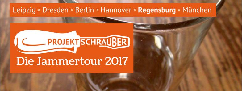 Jammern auch in Regensburg